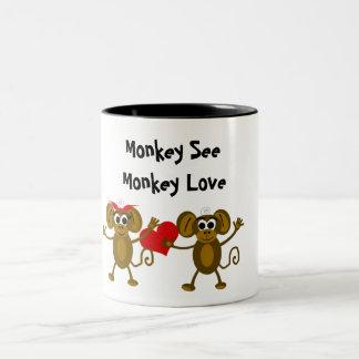 Monkey Love Mug
