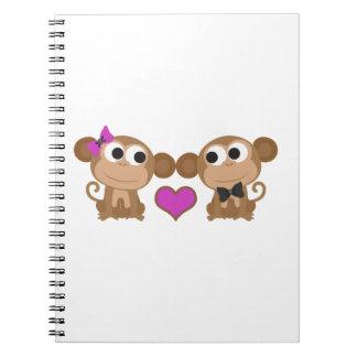 Monkey Love Notebook
