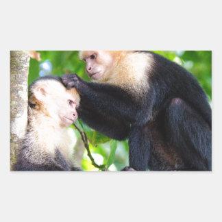 Monkey Love Sticker
