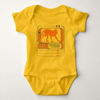 Monkey Lover Baby Bodysuit