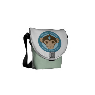 Monkey Mind Chalice Messenger Bags