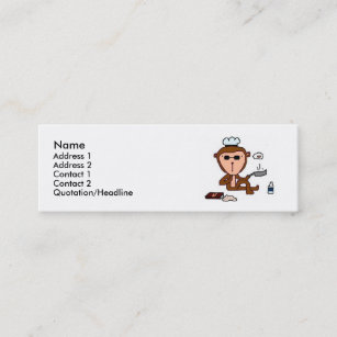 Monkey business cards profile cards zazzle ca monkey mini business card reheart
