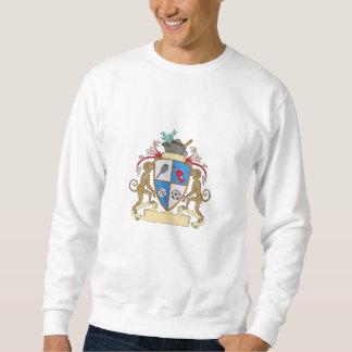 Monkey Money Cook Pot Sports Wine Coat of Arms Dra Sweatshirt