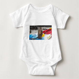 Monkey Mother & Baby Baby Bodysuit