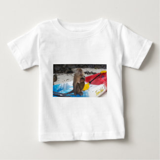 Monkey Mother & Baby Baby T-Shirt
