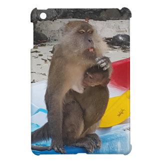 Monkey Mother & Baby iPad Mini Cover