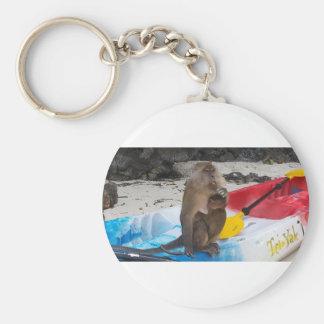 Monkey Mother & Baby Keychain