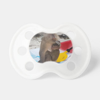 Monkey Mother & Baby Pacifier