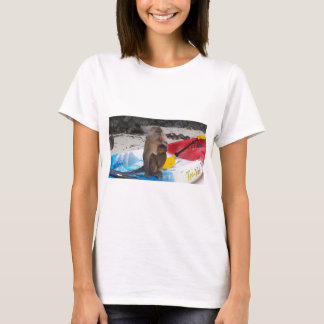 Monkey Mother & Baby T-Shirt