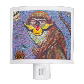 Monkey Nightlight Nite Lites