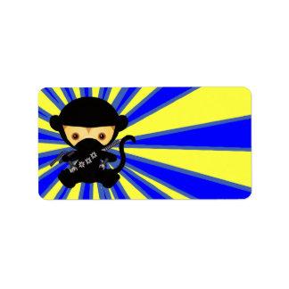 Monkey Ninja Kawaii style