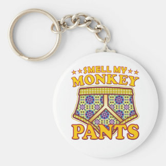 Monkey Pants Smell Keychain