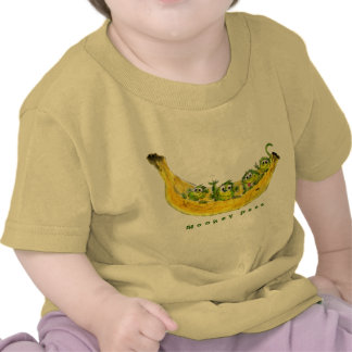 Monkey Peas Cartoon Cute Baby Shirt