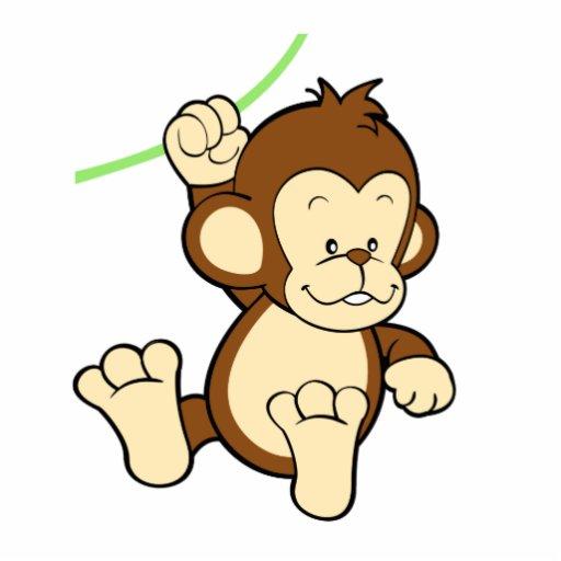 Monkey Photo Sculpture