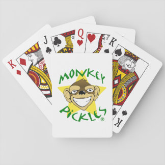 Monkey Pickles Playing Cards