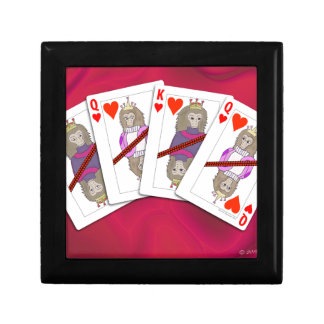 Monkey Playing Cards Gift Box