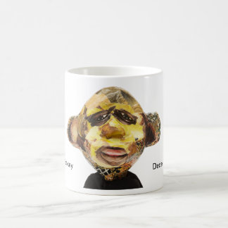 Monkey Portrait Coffee Mug