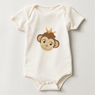 Monkey Queen Baby Bodysuit