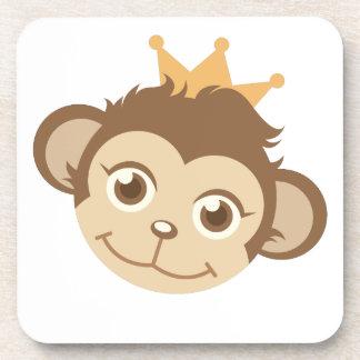 Monkey Queen Beverage Coaster