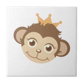 Monkey Queen Ceramic Tiles
