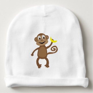 Monkey - Rainforest Newborn Hat Baby Beanie