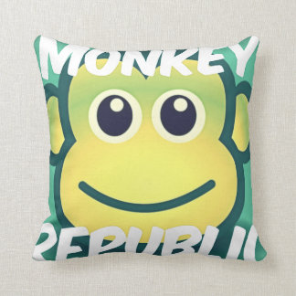 Monkey Republic debut throw cushion