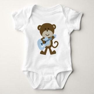 Monkey Rocker/Rockstar Baby Bodysuit