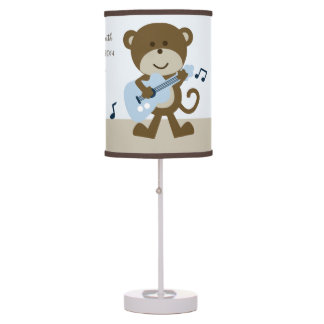 Monkey Rocker/Rockstar Nursery Lamp