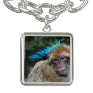 Monkey sad about monday bracelets