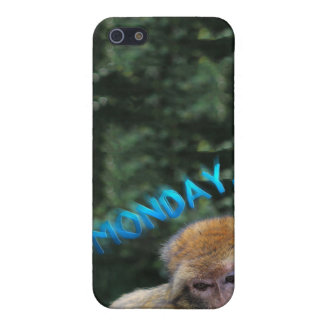 Monkey sad about monday case for the iPhone 5