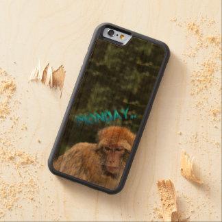 Monkey sad about monday cherry iPhone 6 bumper