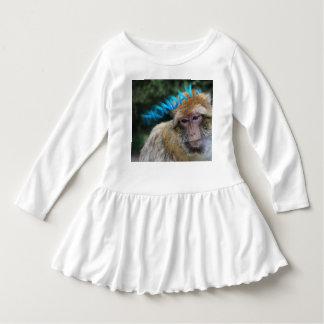 Monkey sad about monday dress