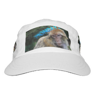 Monkey sad about monday hat