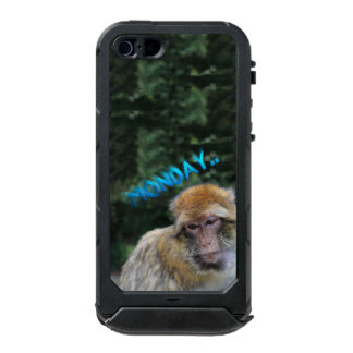Monkey sad about monday incipio ATLAS ID™ iPhone 5 case
