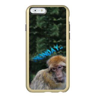Monkey sad about monday incipio feather® shine iPhone 6 case