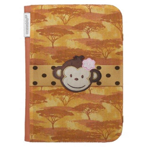 Monkey Safari Kindle Folio Case