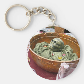 Monkey Salad Keychain