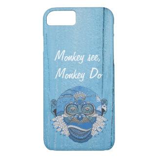 Monkey see monkey Do iPhone 7 Case