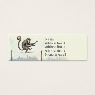Monkey Shines Business Card