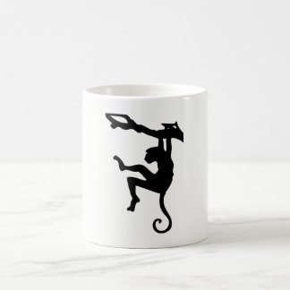 Monkey Silhouette Coffee Mug