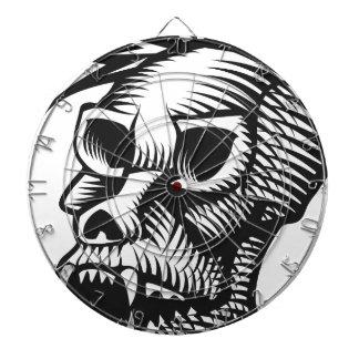 Monkey Skull Dartboard