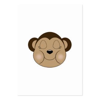 Monkey Sleeping Business Card