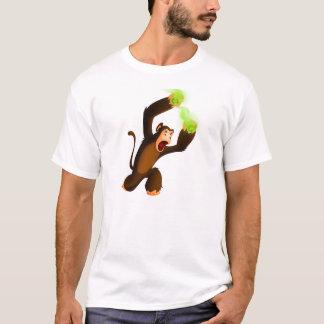 Monkey Slinging Poison Poo T-Shirt