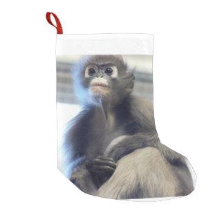Monkey Small Christmas Stocking