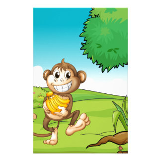 Monkey Stationery