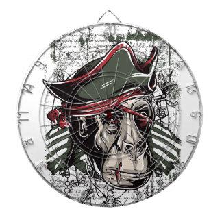 monkey the pirate cute design dartboard