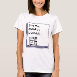 Monkey transportation issue T-Shirt