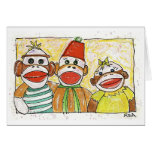 monkey trio cards