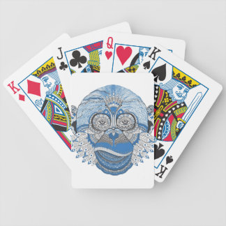 Monkey -universal bicycle playing cards