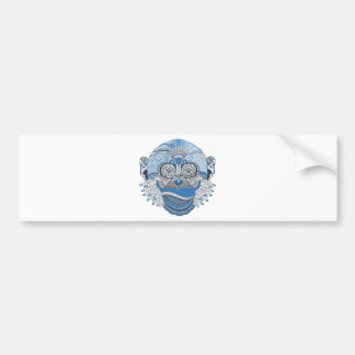 Monkey -universal bumper sticker